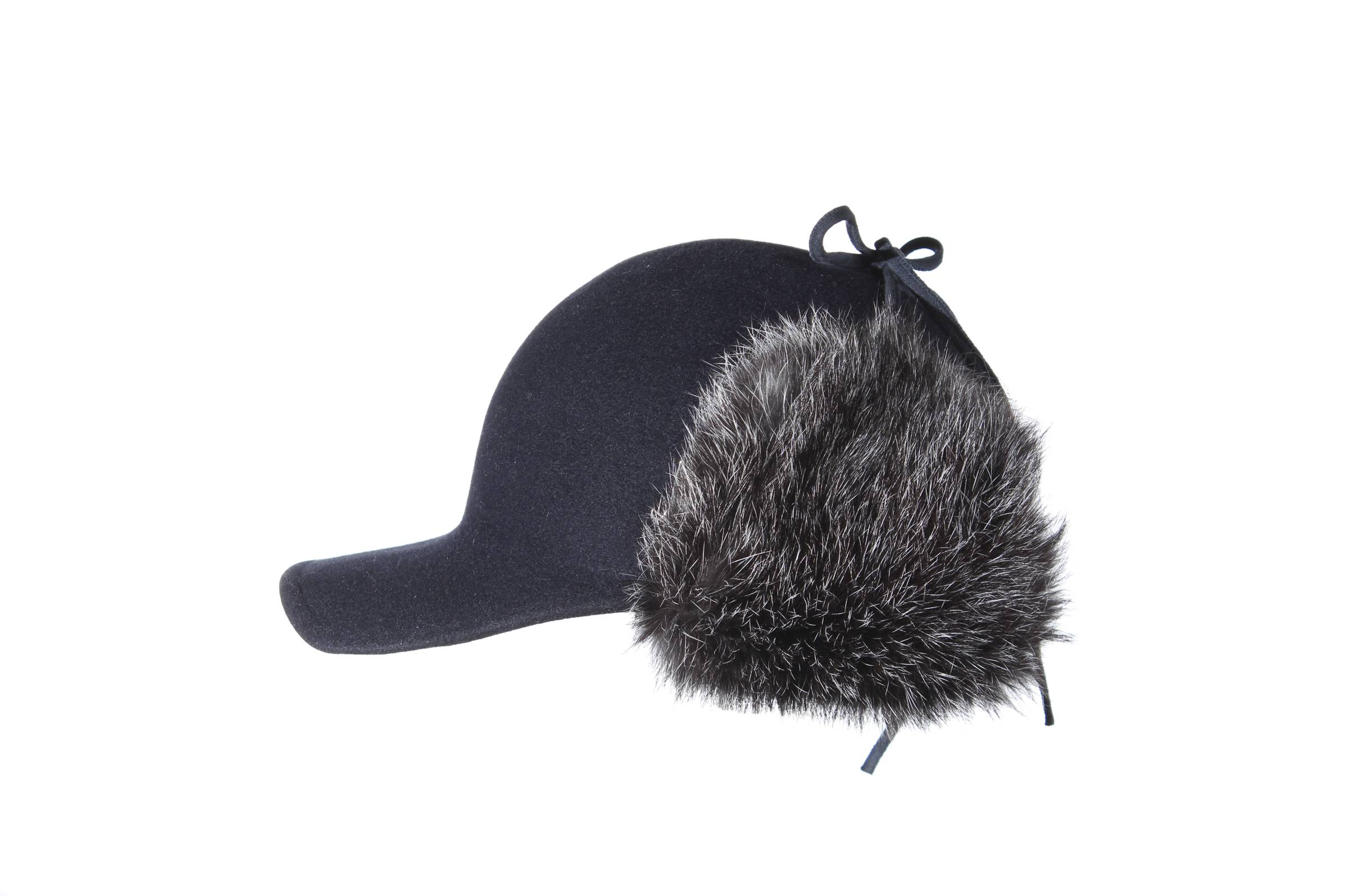 cap BAZ fur felt / german rabbit