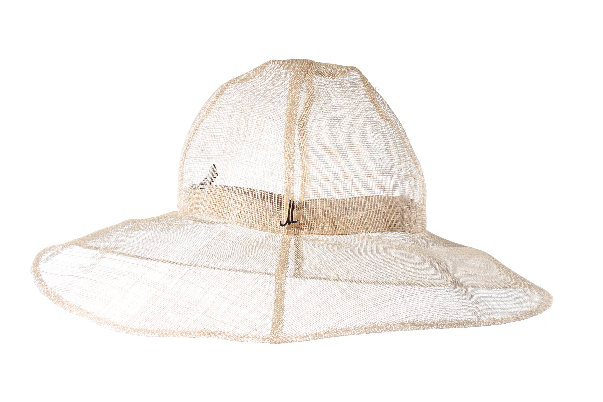 cloche LALE sinamay starched