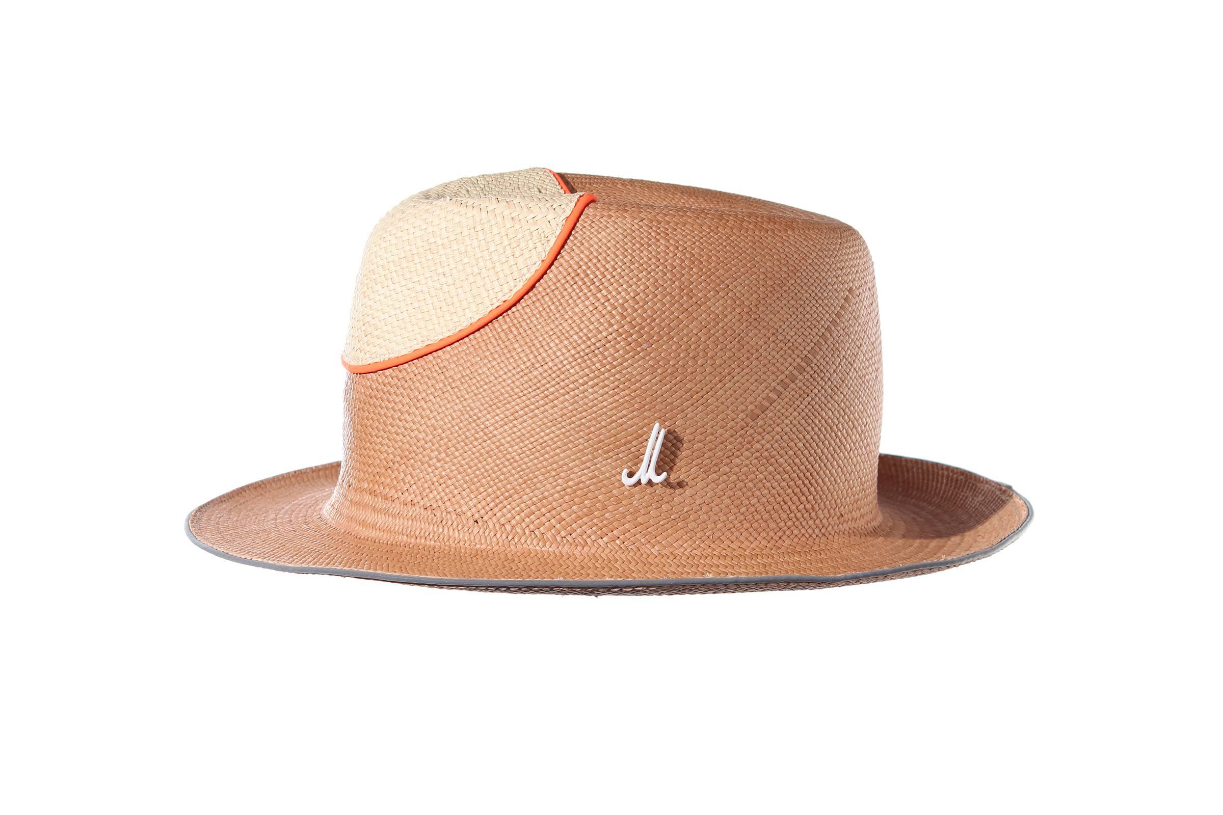 gentleman's hat PRINZ GIL panama straw / panama straw nose