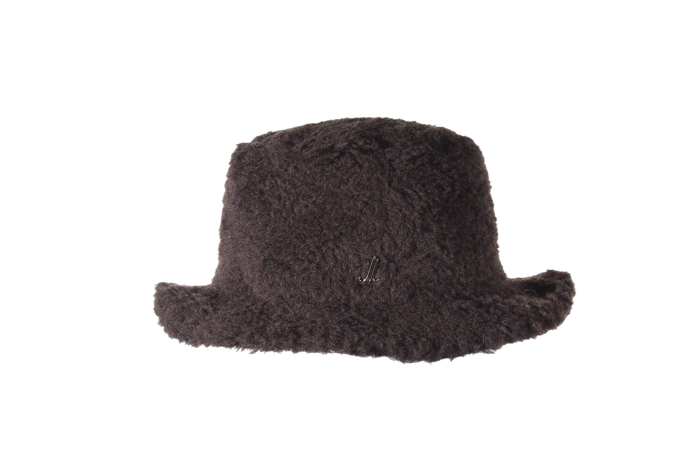 bucket hat MAGNUS teddy wool