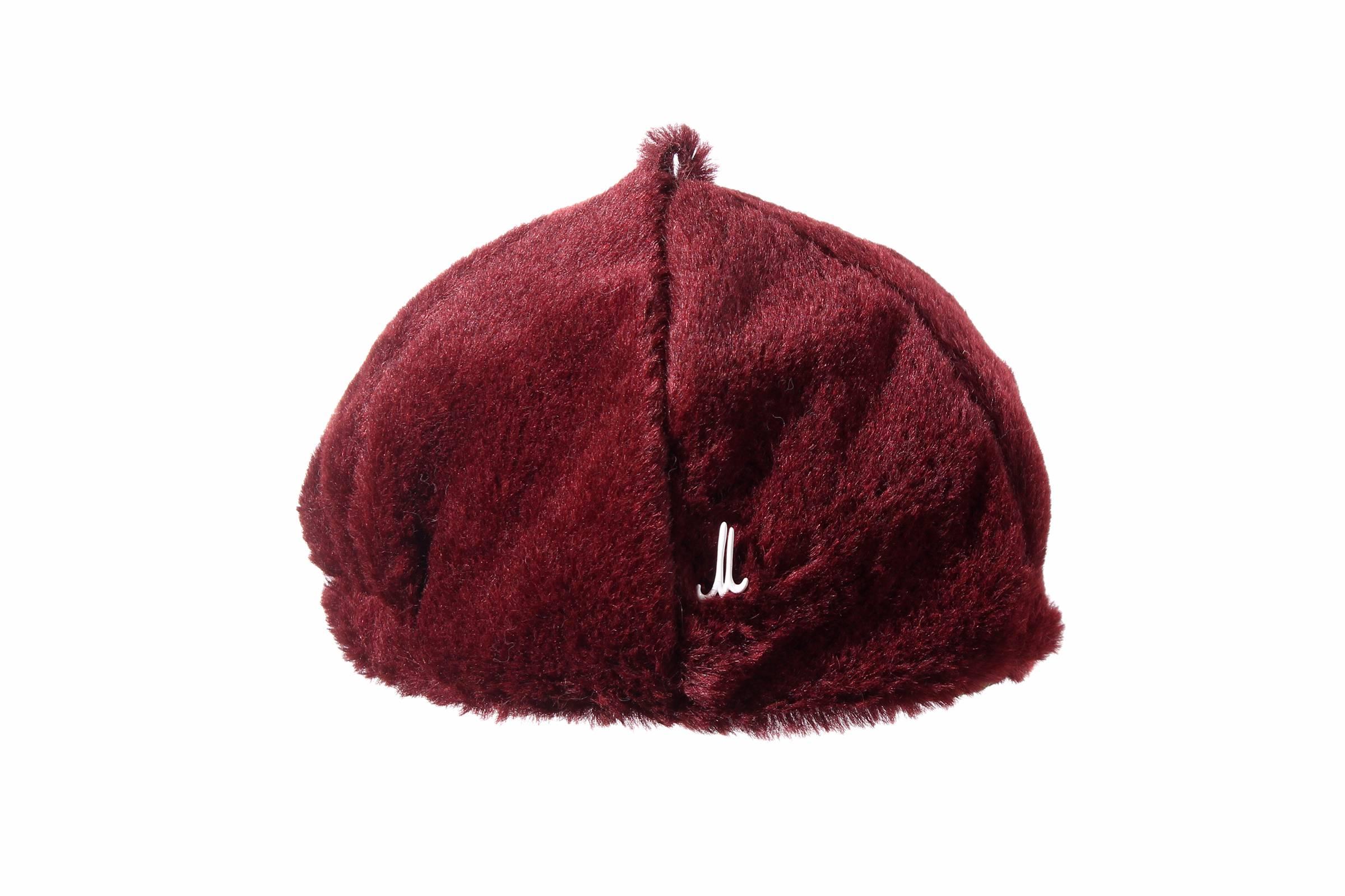 beret POPPY alpaca/mohair velour
