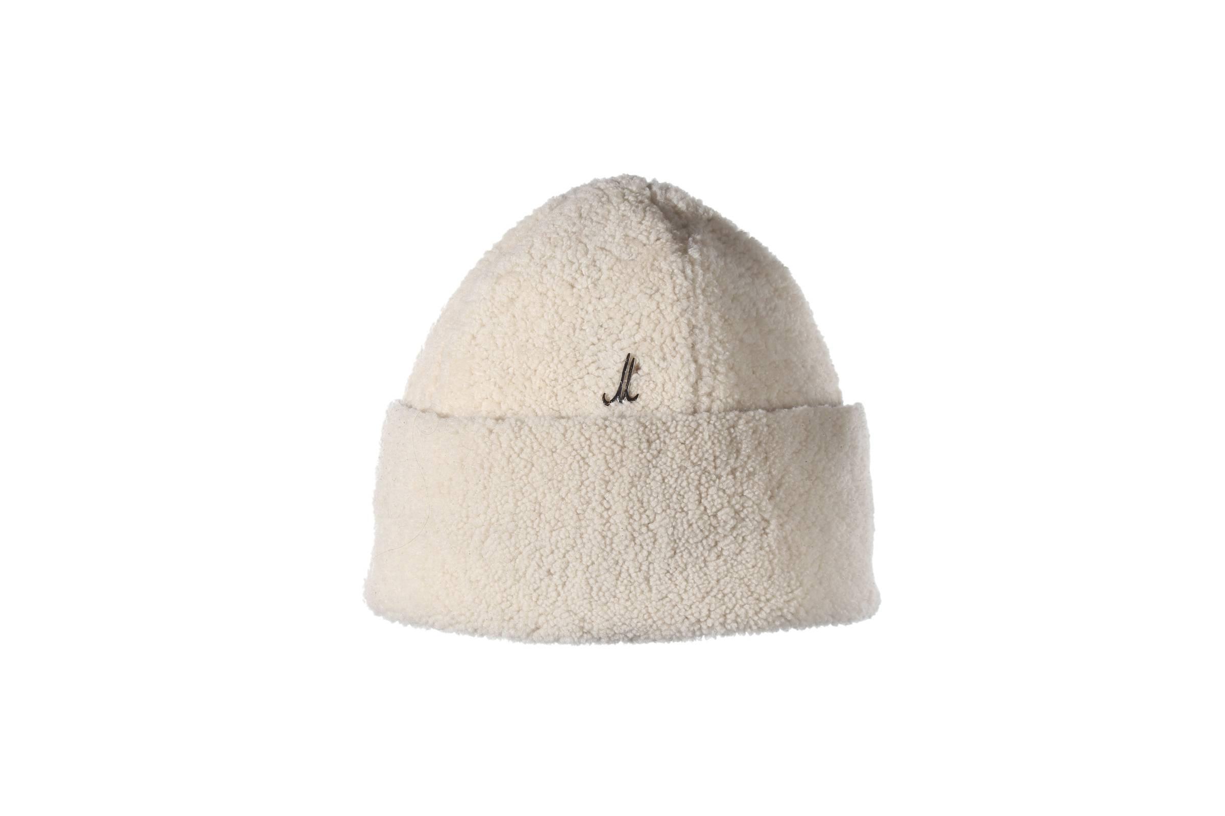 bonnet TULLO curly lamb