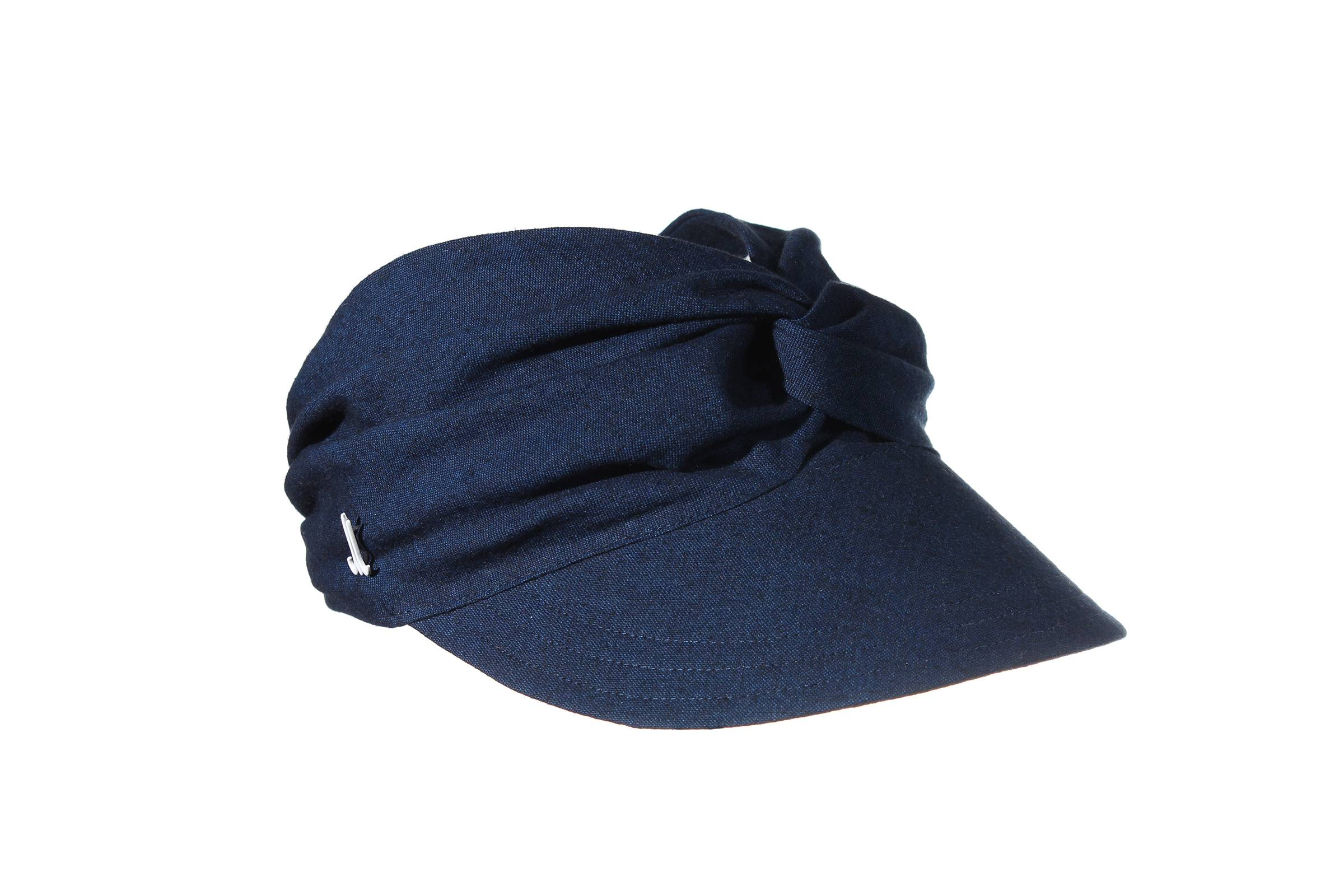 visor ANUSH linen/cotton