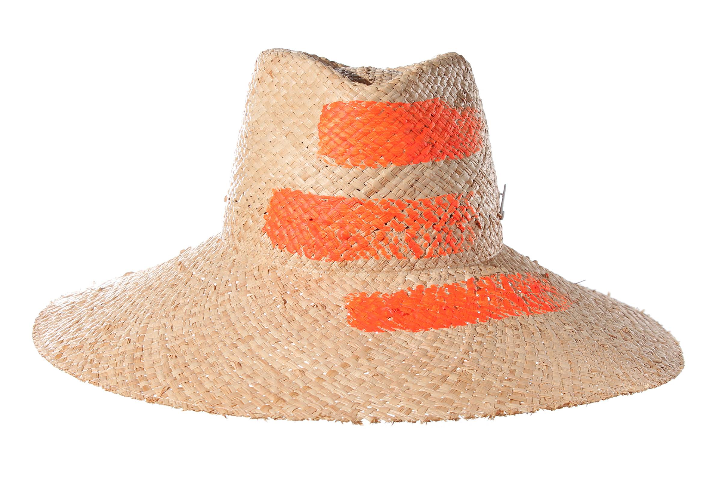 cloche ART FAY raffia straw