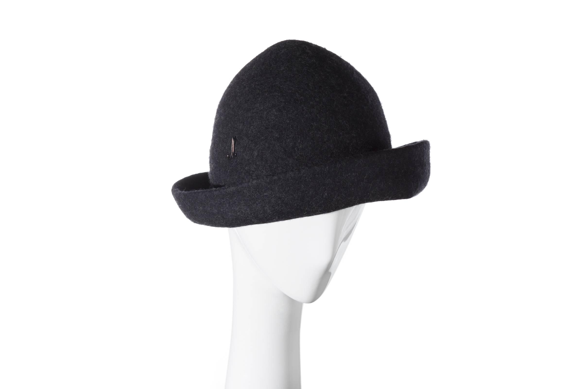 RESI REI - foldable hat - Wollfilz soft  ffd79f689b7