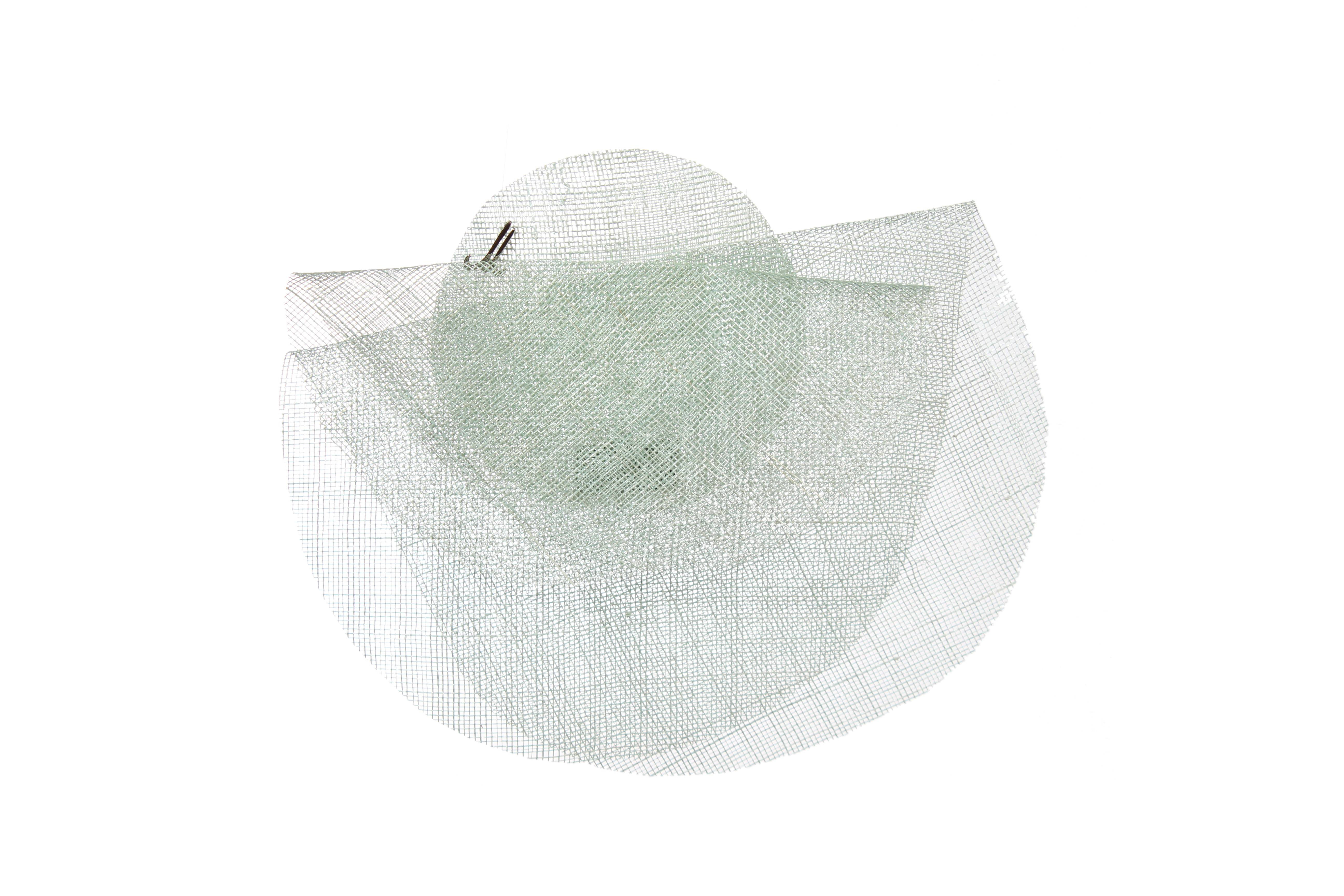 fascinator ELFRIEDE sinamay starched