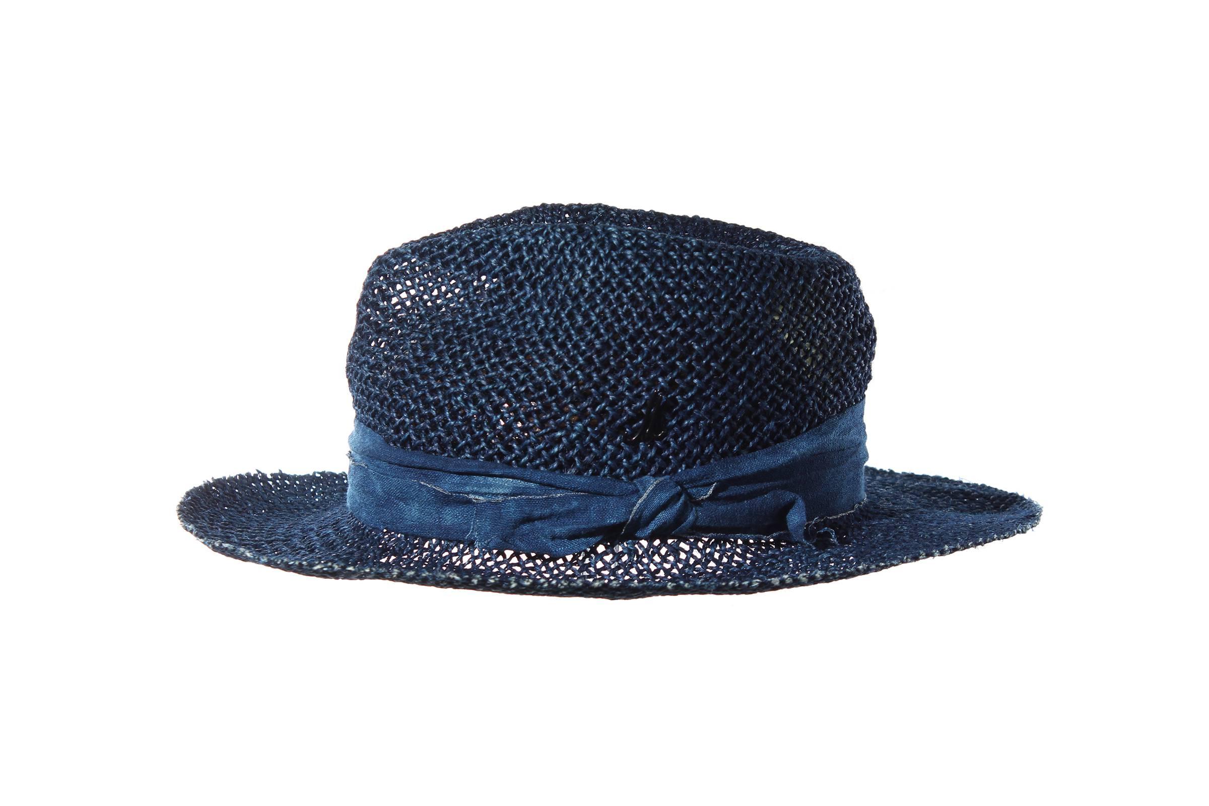 gentleman's hat PRINZ UDO Jute indigo