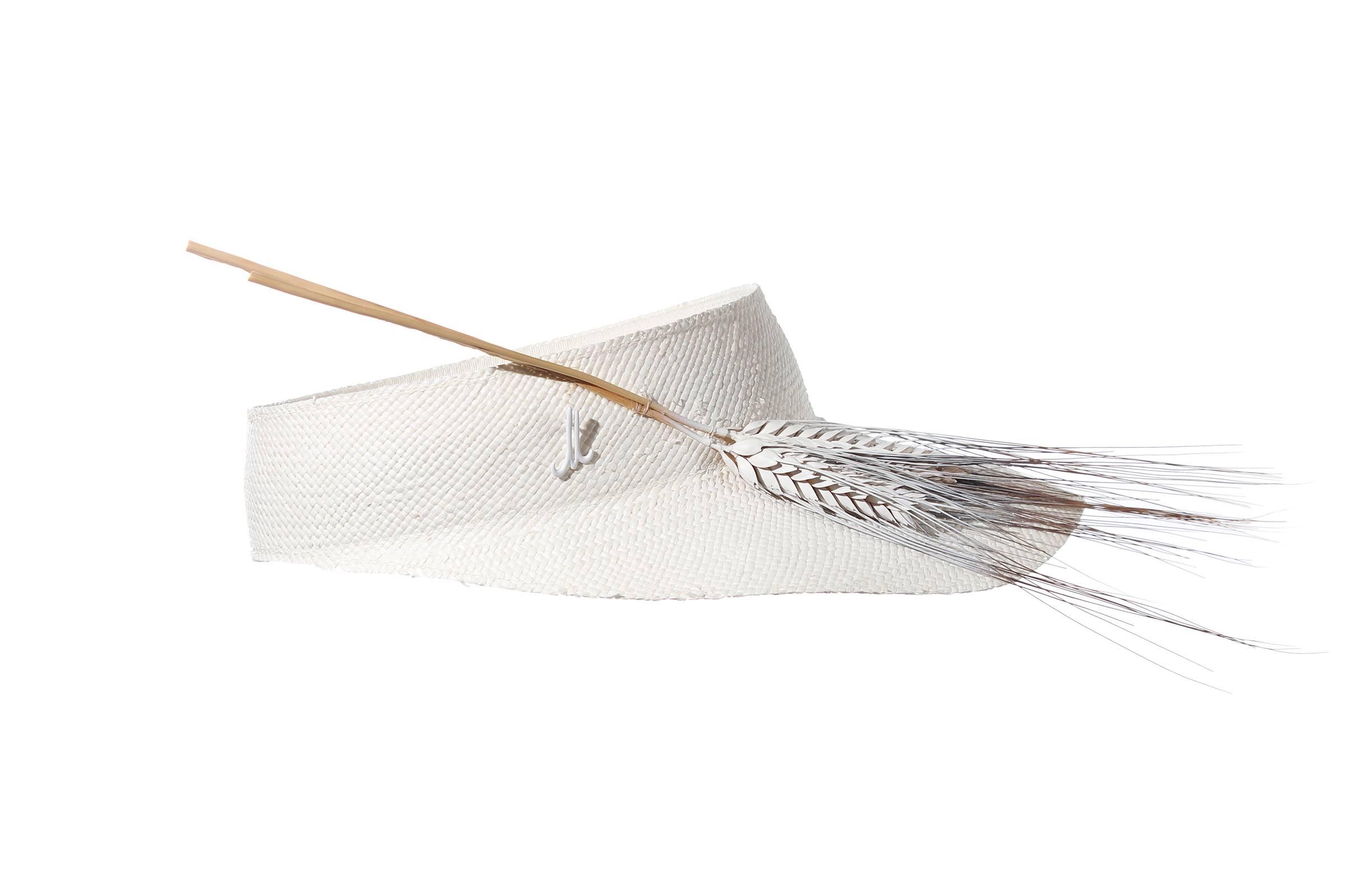 visor GIGI panama straw