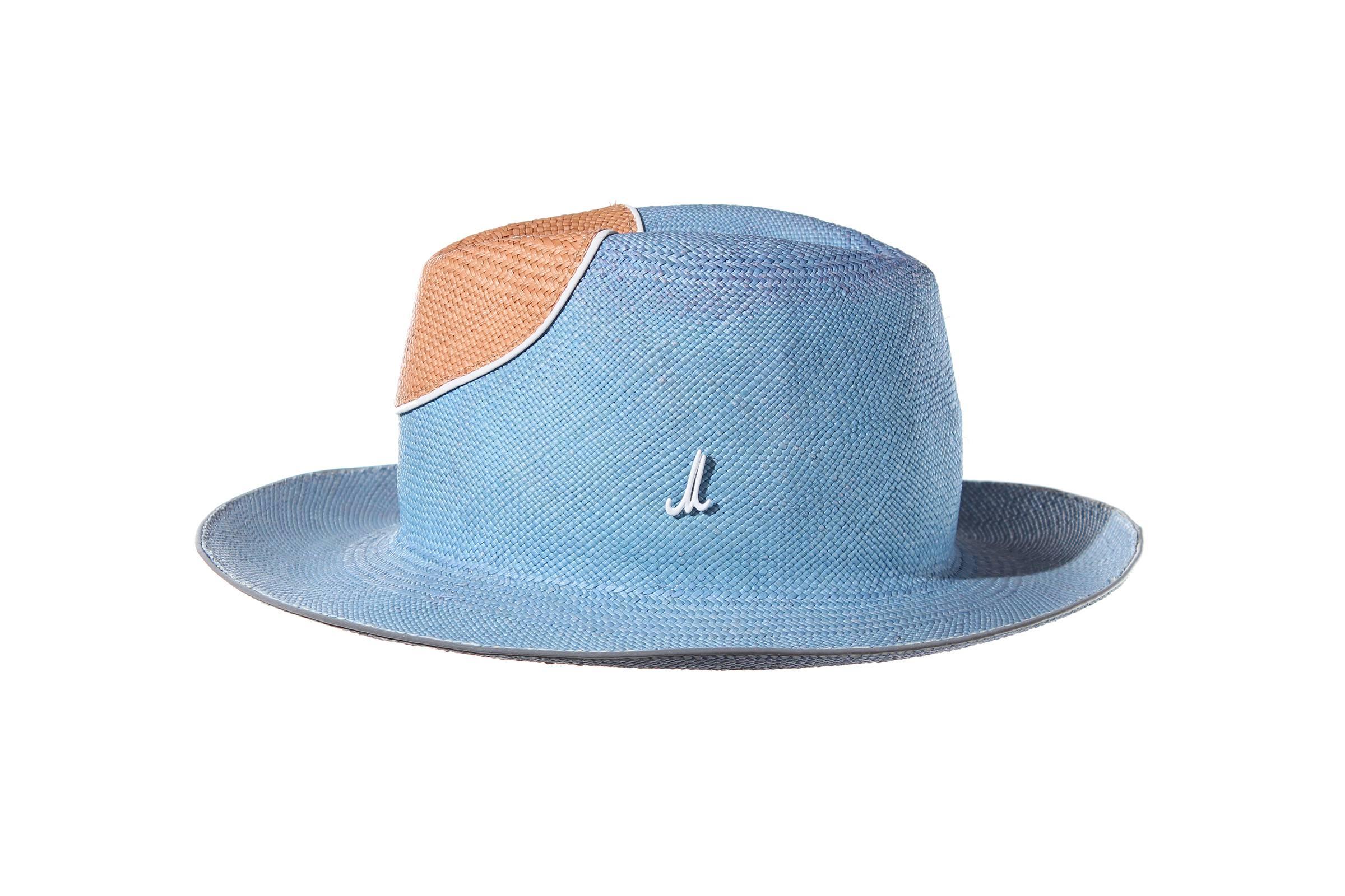 gentleman's hat ART UDO panama straw / panama straw nose