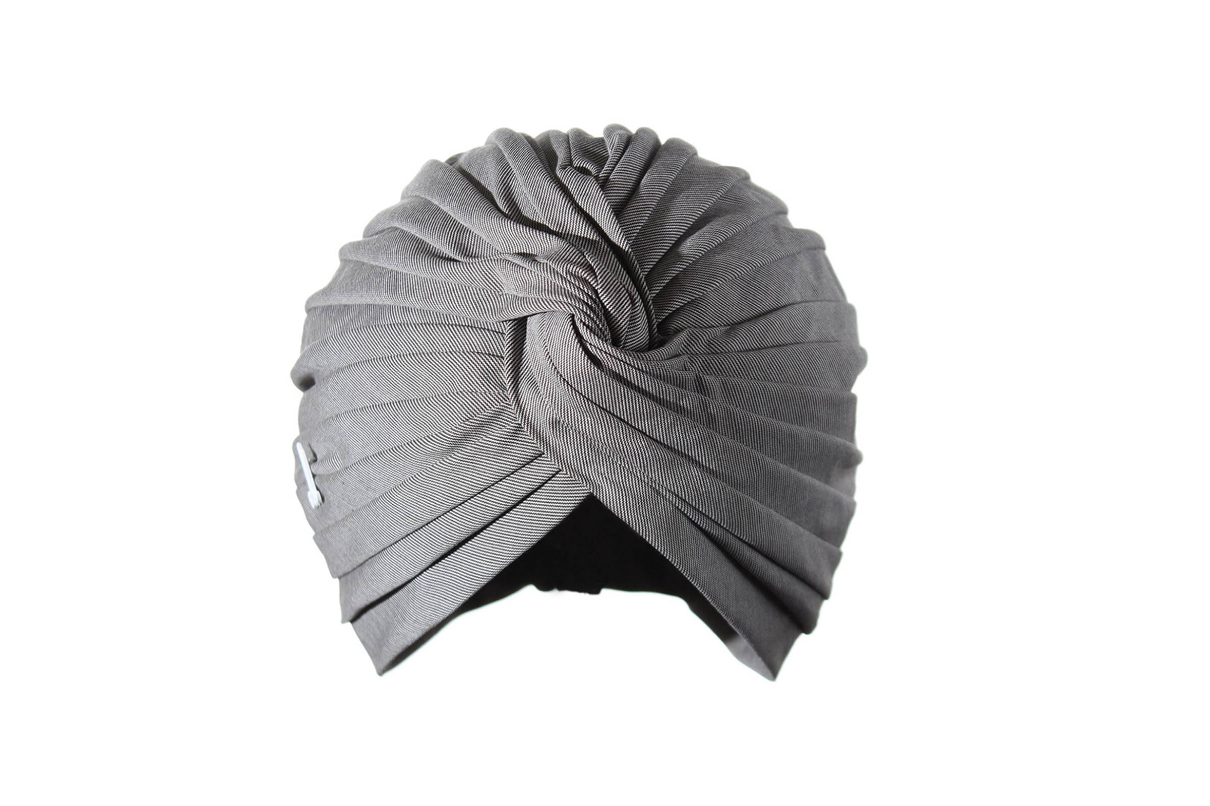 Turban OMAR Baumwolle gestreift