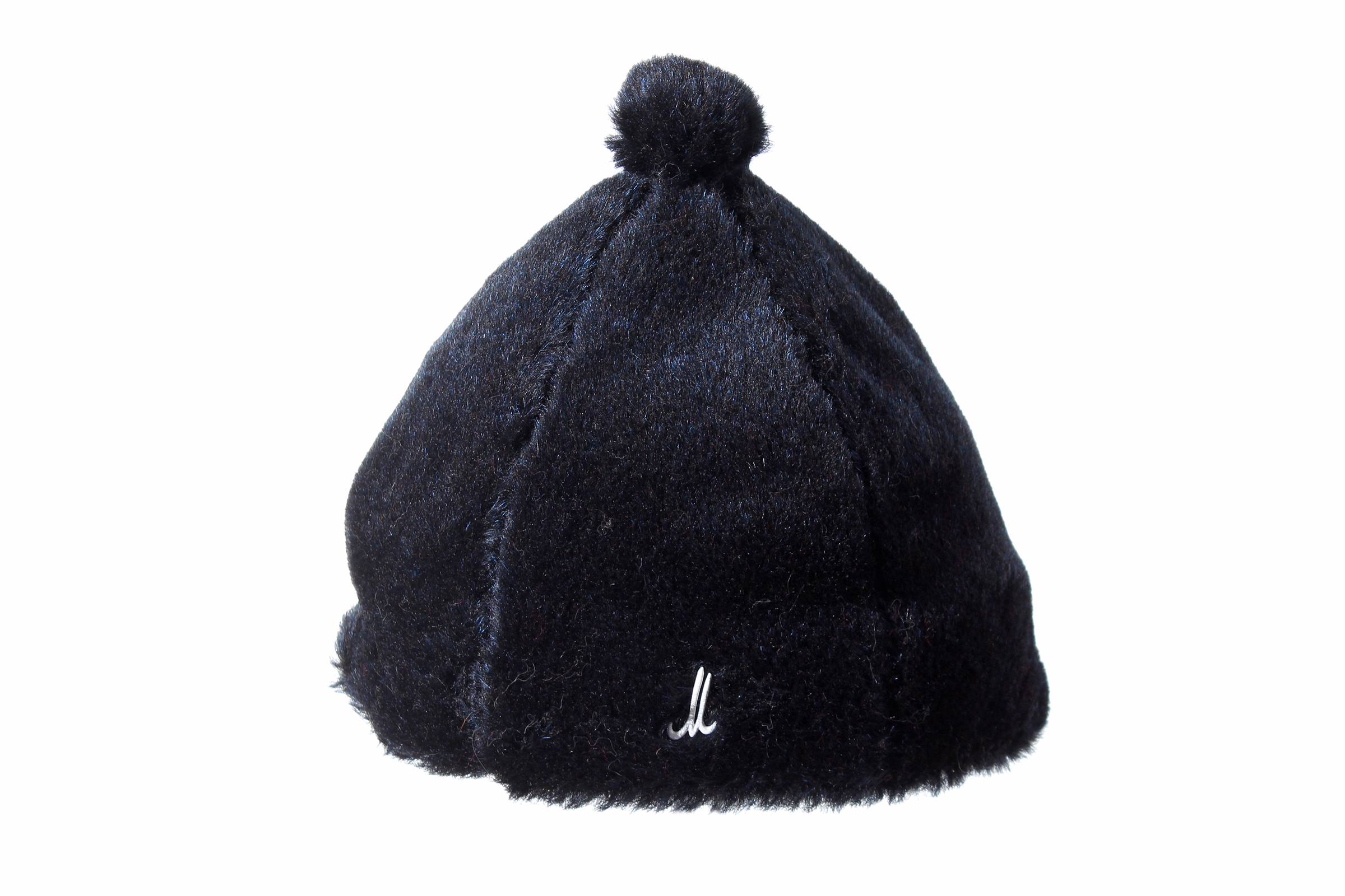 bonnet TESSA alpaca/mohair velour