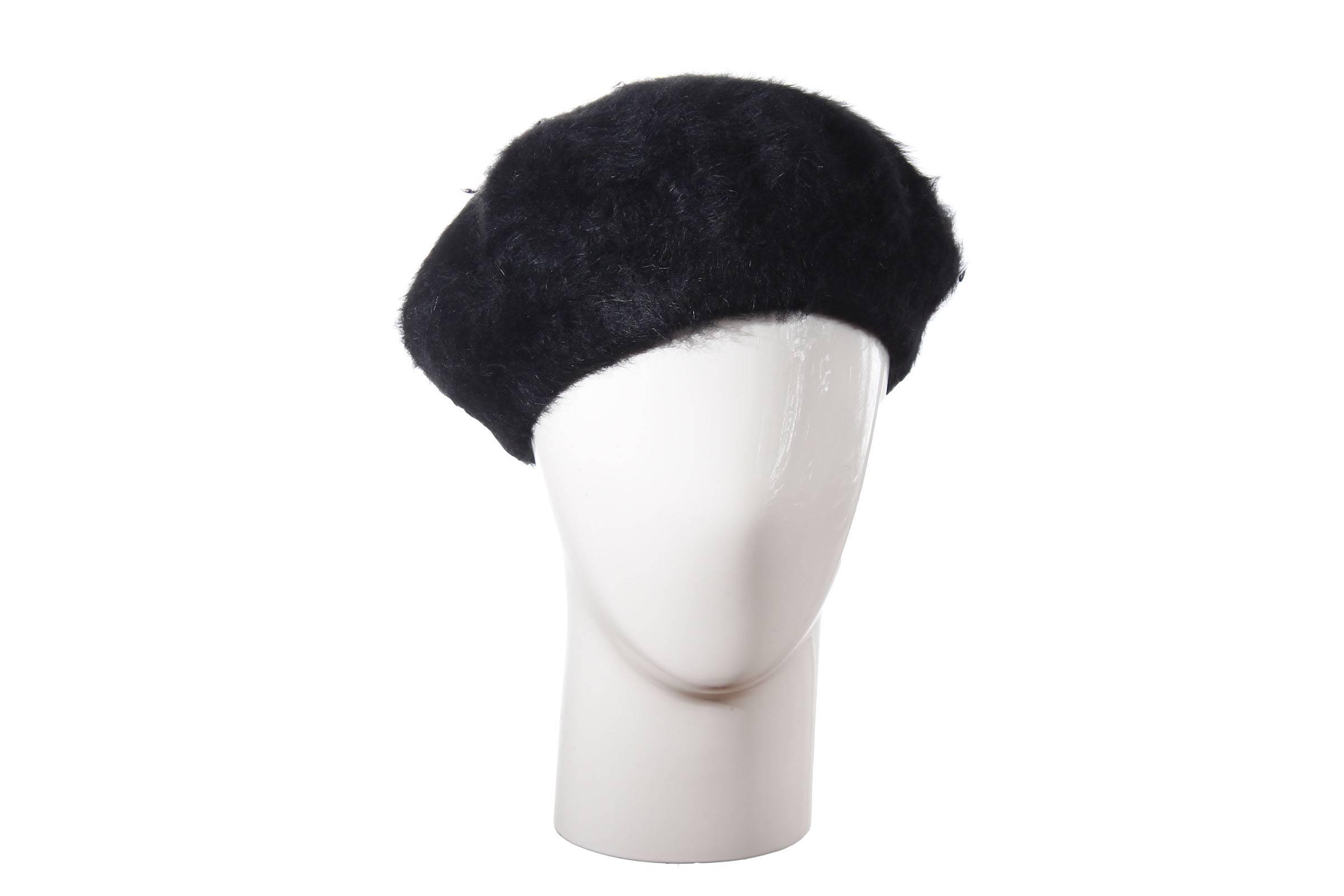 beret MARNO Angora/Wolle
