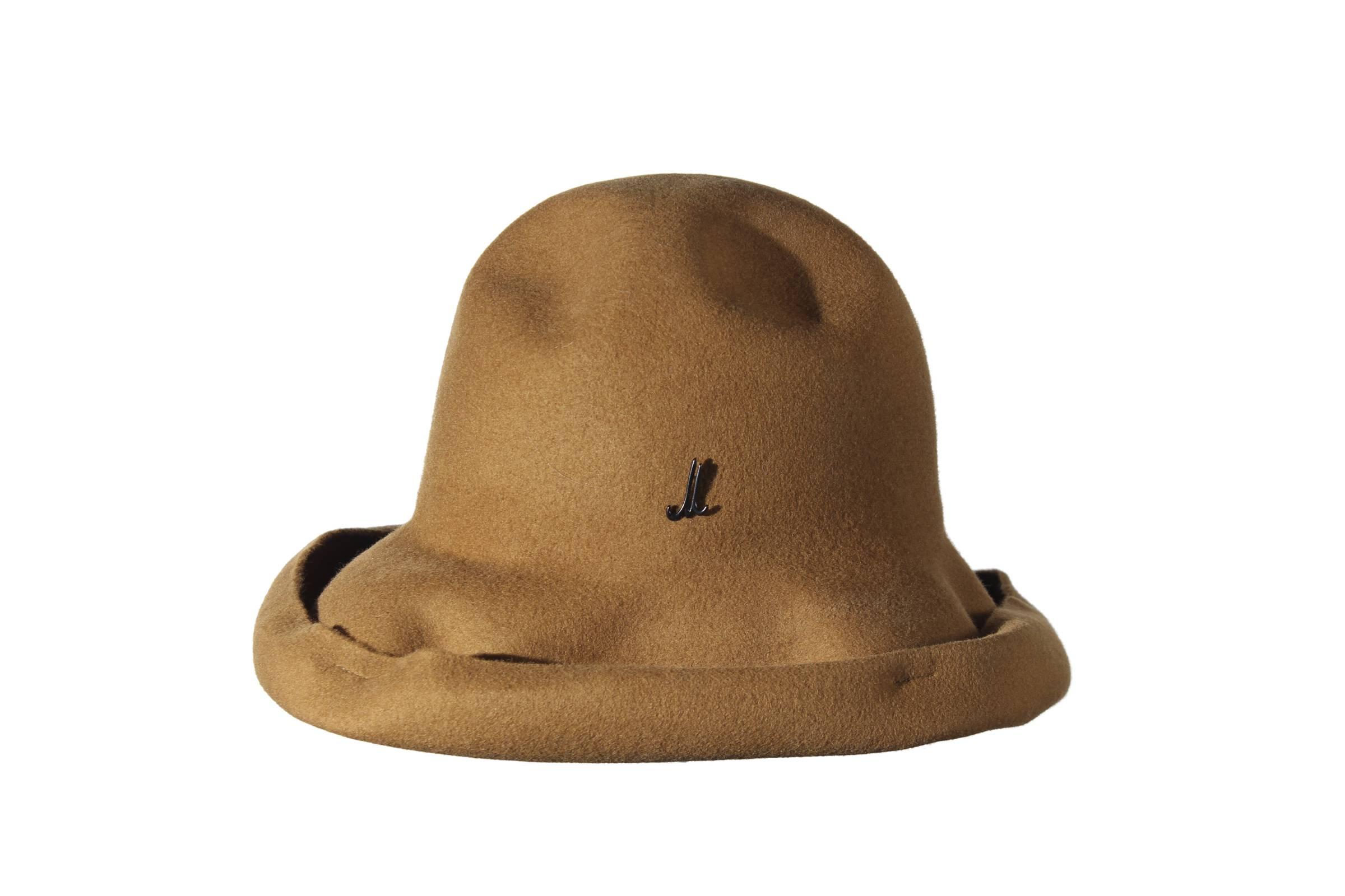 foldable hat RESI RAMA wool felt light