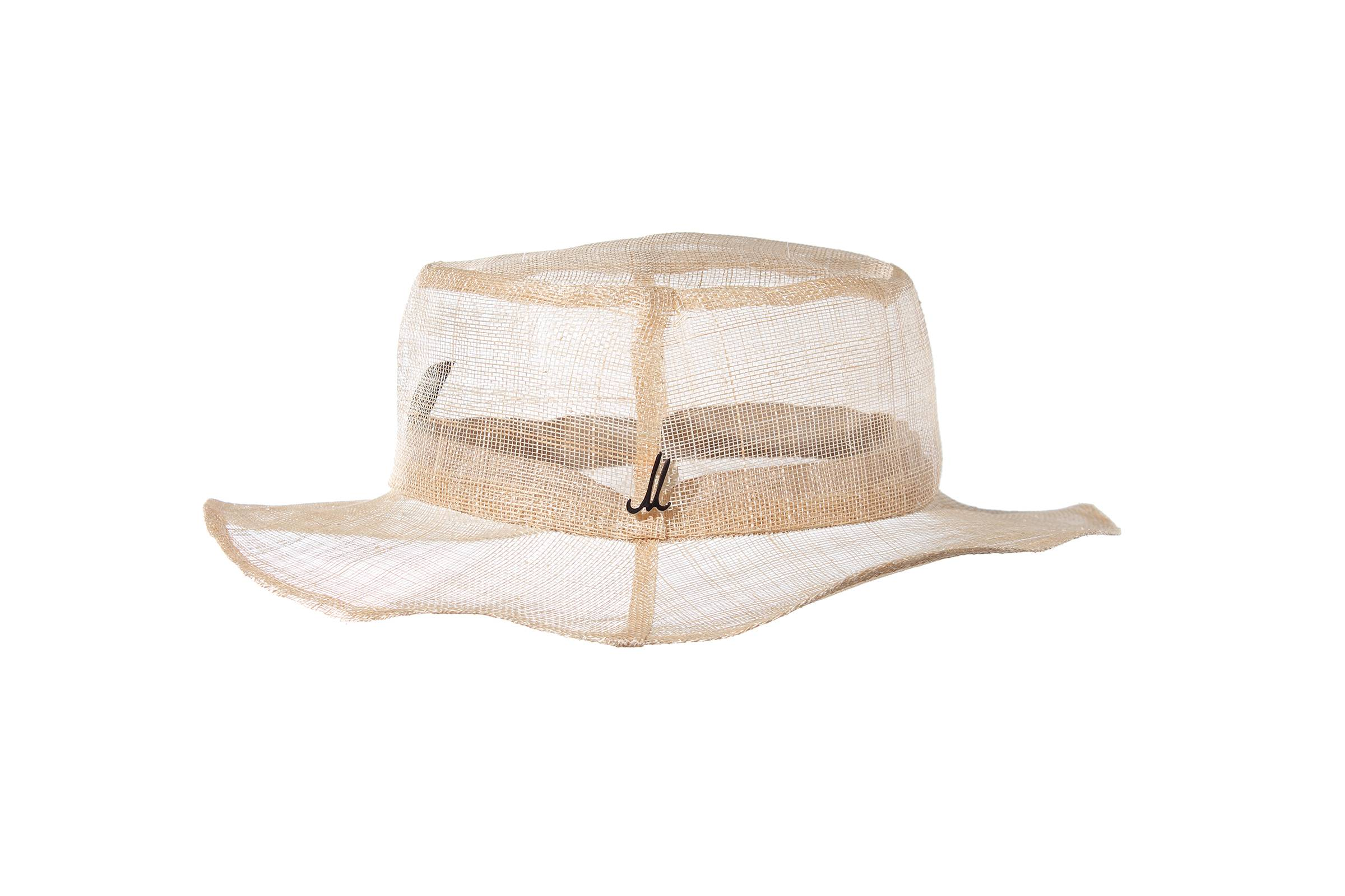 bucket hat ARIS sinamay starched