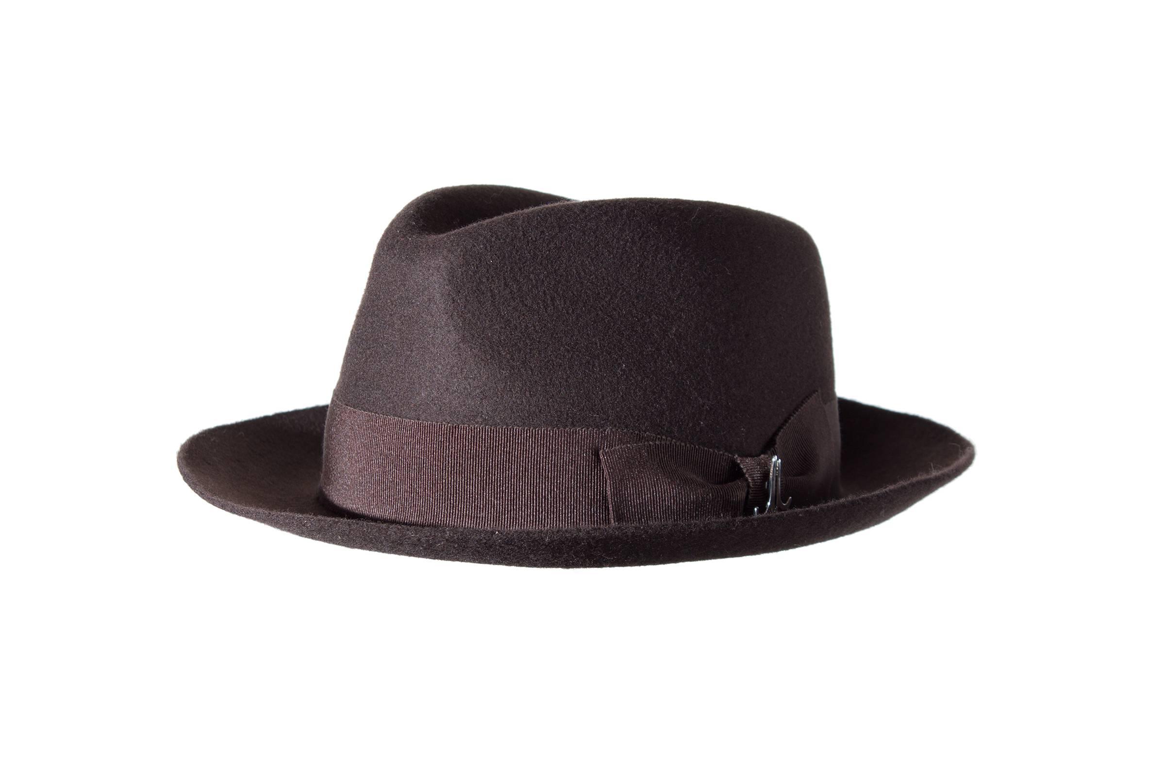 gentleman's hat GRAF THEO wool felt
