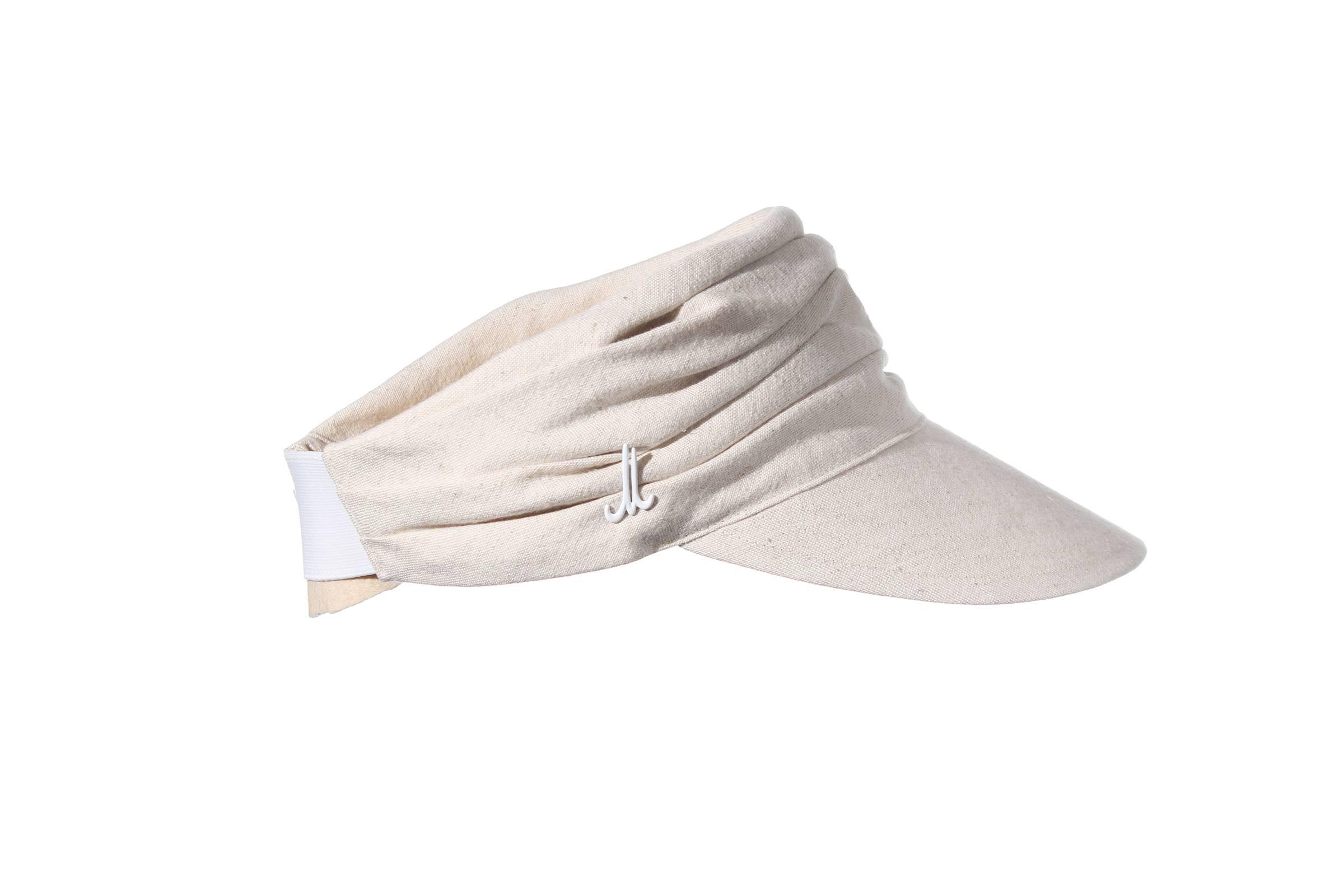 visor NANE linen/cotton