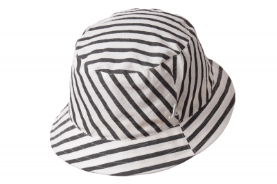 bucket hat WALTER cotton blockstripe
