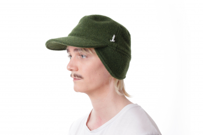 hat cap STORM loden fleece