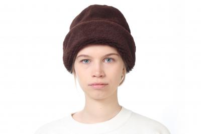 bonnet OLLIE alpaca/mohair velour