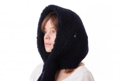 hood HELIN sherpa wool recycled