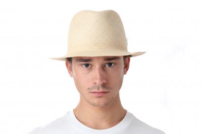 gentleman's hat PRINZ GIL panama straw