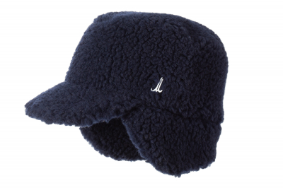 cap SNOW sherpa wool recycled
