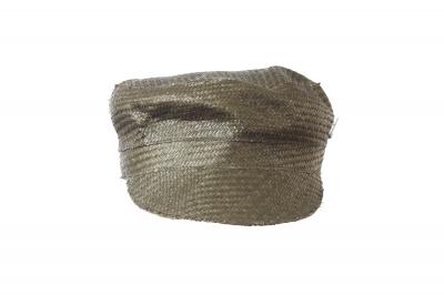 cap ROBERT straw fabric parquet
