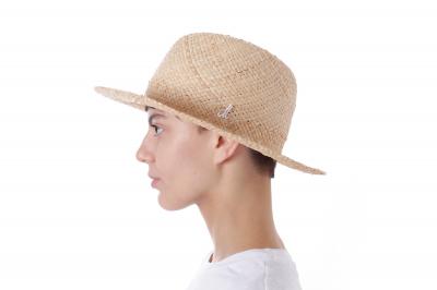 gentleman's hat PRINZ DUKE raffia straw