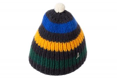 Mütze ANDRIN Schurwolle handgestrickt