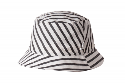 bucket hat WALTER cotton blockstripe