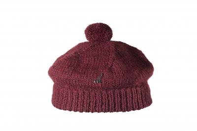 beret GANAN baby alpaca hand-knitted
