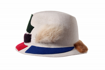 ghost hat SEPP fur felt