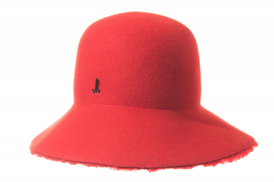 bucket hat DUKE LIA wool felt / WOOL LAMB