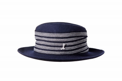gentleman's hat ART UDO wool felt light / costume braid