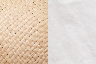 Cloche NAJA FAY Raffiastroh / Leichte Baumwolle