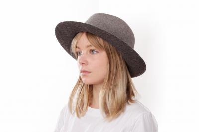 gentleman's hat PRINZ UDO H fur felt / fur felt