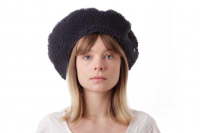 beret SIDWIG sherpa wool