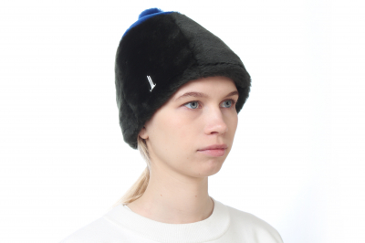 bonnet IDA lamb skin / lamb skin