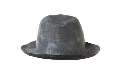 gentleman's hat DUKE paper panama handpainted