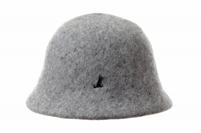 cloche NAJA wool felt soft