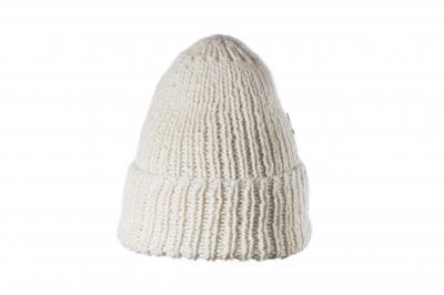 fold-up beanie STEFF baby alpaca hand-knitted