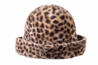 turn-up hat RESI REI printed melusine felt