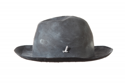 gentleman's hat DUKE paper panama handpainted