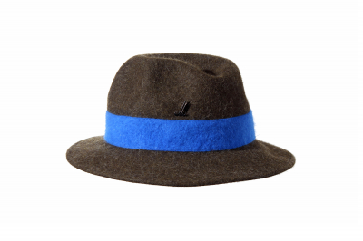 gentleman's hat MICK fur felt superlight / Band Haarfilz superleicht